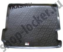 Коврик багажн.  BMW X3 (F25) (10-)   (РЕЗИНА)