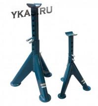 Стойка-поддомкратник на  1,5 тонны FORSAGE с двойной фиксацией (1шт) (h min 305мм, h max 450мм)