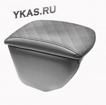 Подлокотник мод. Hyundai Solaris II с 2017г.-  серый/серый/серый  РОМБ