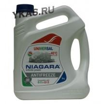"""Антифриз  """"Niagara""""  G11-G12  (бесцветный) 5 кг  УНИВЕРСАЛЬНЫЙ"""