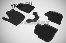 Коврики резиновые   Skoda Rapid с 2013г.- БОРТ