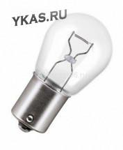 Лампа МАЯК 12V     А 12-21 (Е4)  P21W  BA15s (уп.10шт)