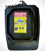 Коврики резиновые   Lada 2101-2107  (корыто) (4шт)