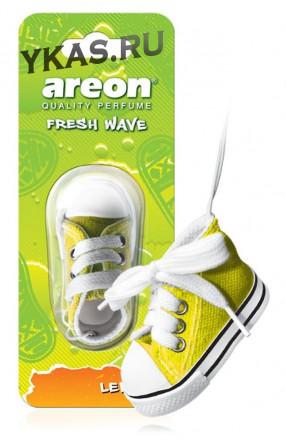 Осв.возд. Areon FRESH WAVE  FW04 lemon (кеды)
