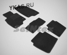 Коврики текстильн. Mazda 6 III с 2012г-  /компл.5шт./осн.резин./ LUX