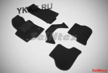 Коврики текстильн. Skoda Octavia A5 /Jetta 2005-2010г. / Golf V/VI / компл.5шт./осн.резин./ LUX