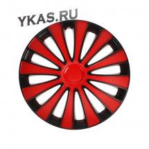 "Колпак STAR 15"" GMK Red Black"