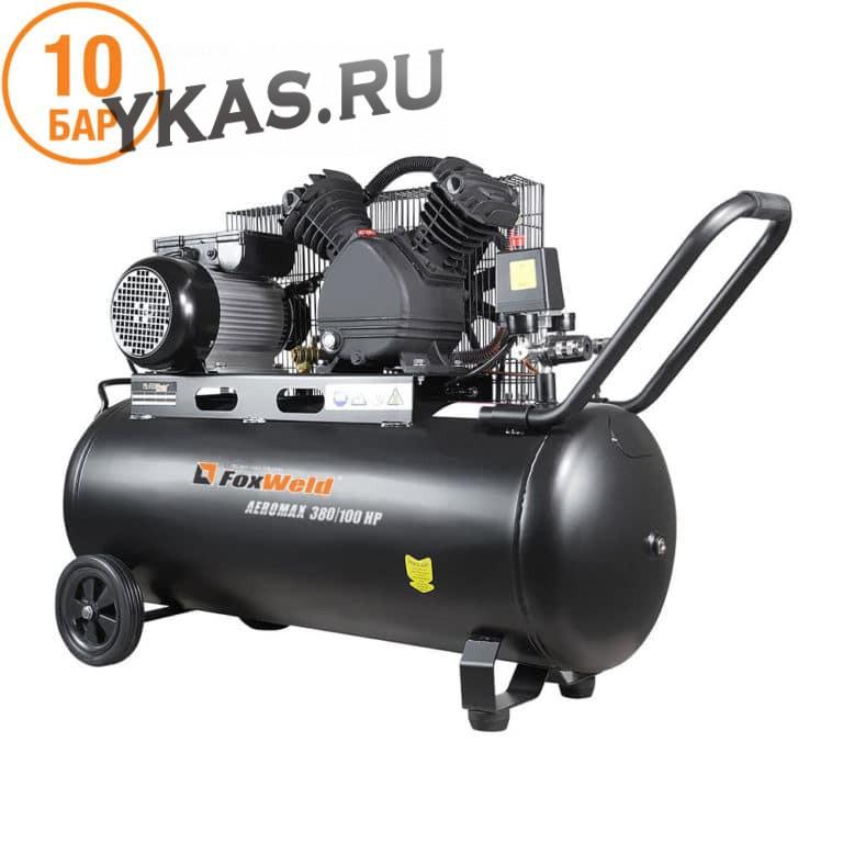 Foxweld  Компрессор AERO бак 100л,  380 л/мин. (2,2кВт)