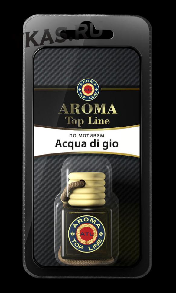 Осв.возд.  AROMA  Topline  Флакон Мужская линия  №09  Armani Aqua di gio
