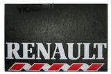 "Брызговик 480х330 ""RENAULT"" 2шт. мал. (белая надпись)"