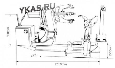 Шиномонтажный станок для грузовых авто_13650