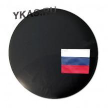 Чехол на запаску «РОССИЯ»  Чёрный, R-15