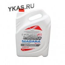 """Антифриз  """"Niagara""""  G12+  (красный) 10 кг"""