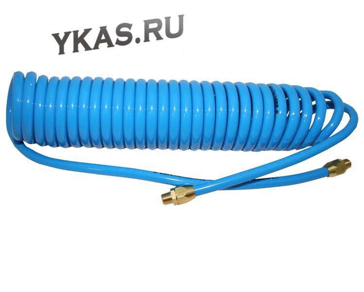 шланг спиральный полиуретановый 5х8мм 15 м_19357
