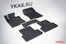Коврики резиновые   Honda Accord  VIII 2008-2012г.  СЕТКА