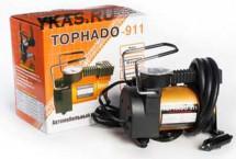 Компрессор  TORNADO-911  30 л/мин, металл. корпус, сумка