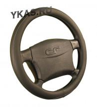 Оплетка на руль   CF  CREEK - L, Чёрный/Серый