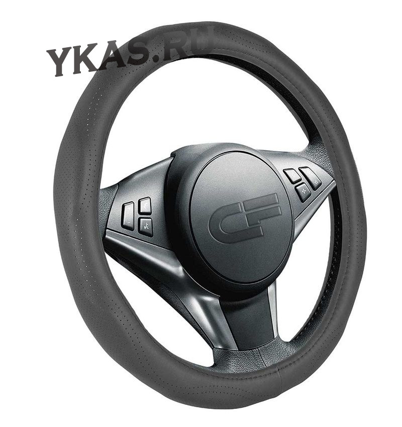 Оплетка на руль   CF  LAKE - М,  Черный