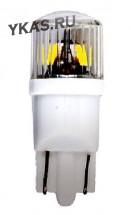 Маяк Cвет-од  ULTRA 12V T10  3SMD (2835) 1.2W 50Lm W2,1x9,5D 6000K (2шт.) A-05