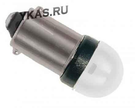 Маяк Cвет-од 12V  T8  3 SMD (2835) BA9s SUPER WHITE (бл.2шт)