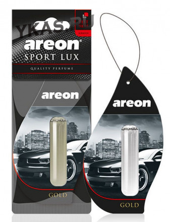 Осв.возд. Areon SPORT LUX LIQUID 5ml   GOLD