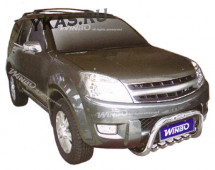 Great Wall Hover (2005-2006) защита пер.бампера метал.