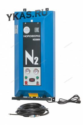 Установка для накачки шин азотом  _25902
