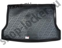 Коврик багажн.  Nissan Tiida II HB (15-)   (РЕЗИНА)