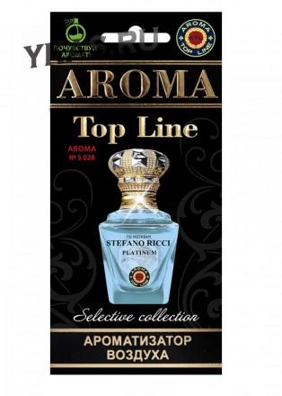 Осв.возд.  AROMA  Topline  Селективная серия s028   Stefano Ricci Royal Platinum