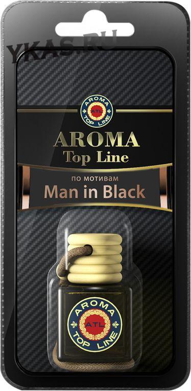 Осв.возд.  AROMA  Topline  Флакон Мужская линия  №29  Bvlgari Man in Black