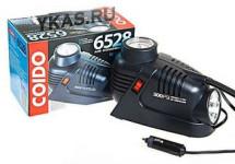 Компрессор COIDO 6528 (300psi) 12 V  c манометром,фонариком