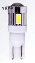 Маяк Cвет-од  ULTRA 12V T10  6SMD (5730) 360* 3W 70Lm W2,1x9,5D 6000K SUPER WHITE (2шт.) A-10
