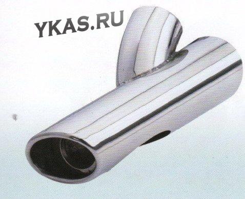 Насадка на глушитель YFX-0044  (d 58mm  L178mm)