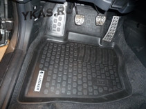 Коврики резиновые   Honda Civic VIII HB 2006-2012г. тэп.