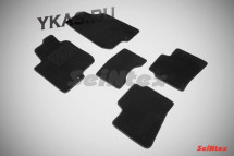 Коврики текстильн. Hyundai  i 30 I 2007-2012г. /компл.5шт./осн.резин./ LUX