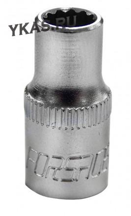 "FORSAGE. Торц. головка 1/4"" 12-гр.  7 мм"