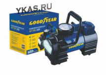 Компрессор GOODYEAR  GY 35  LED  7Атм /168Вт/35л/ прикур/сумка/съёмная ручка