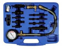 Манометр для измерения давления масла, 0-10 бар, комплект адаптеров_15323