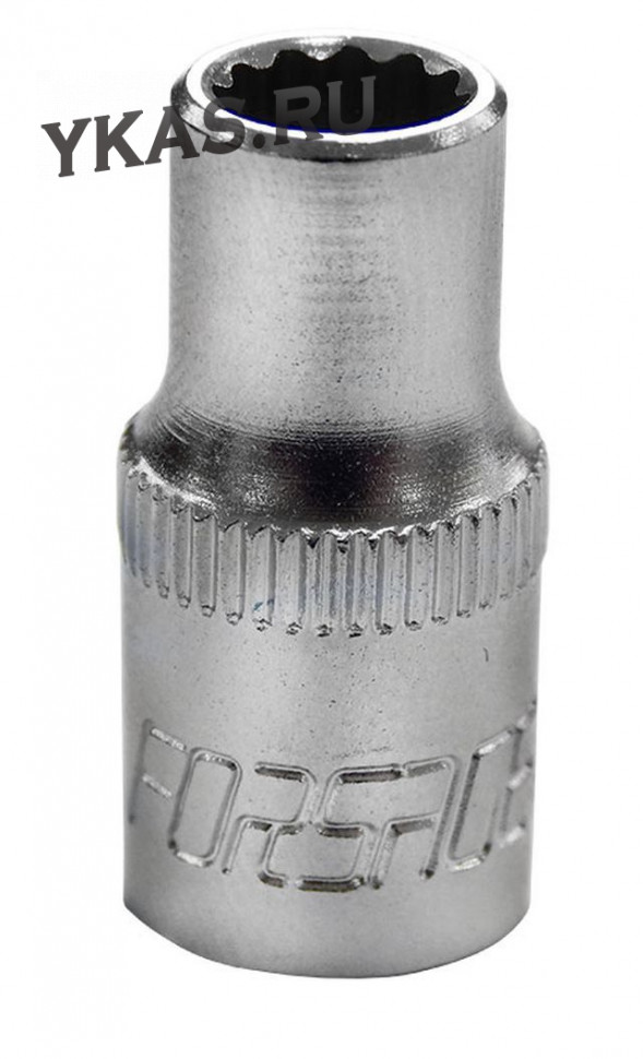 "FORSAGE. Торц. головка 1/4"" 12-гр. 13 мм"