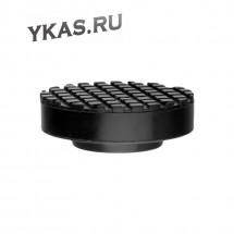 Опора для подкатного домкрата (резиновая) (D-65/38мм, H-27 мм)