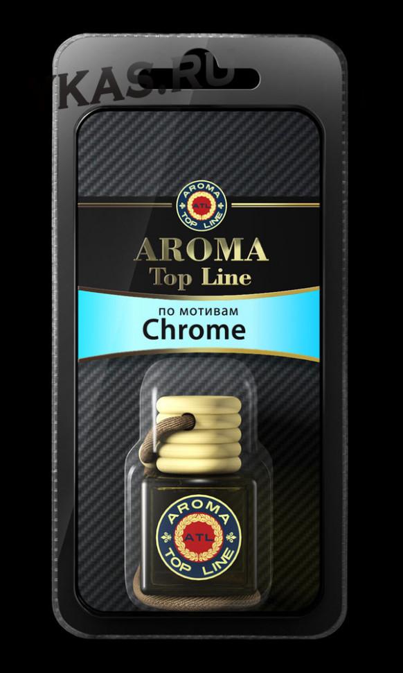 Осв.возд.  AROMA  Topline  Флакон Мужская линия  №57  Azzaro CHROME
