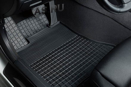 Коврики резиновые   Kia Sportage IV c 2016г.-  СЕТКА