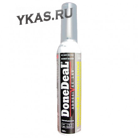DD 6735 Термостойкий серый силикон. формирователь прокладок, 205 г