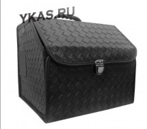 Сумка органайзер в багажник «S»  Wicker  35/30/30 черный