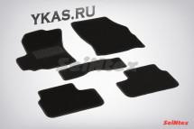 Коврики текстильн. Suzuki SX 4 I 2006-2013г.  /компл.5шт./осн.резин./LUX