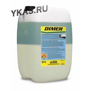 ATAS   DIMER  10 KG. Двухкомпонентная пена без фосфатов, концентрат (100-250 г) в пенокомплект (1л)