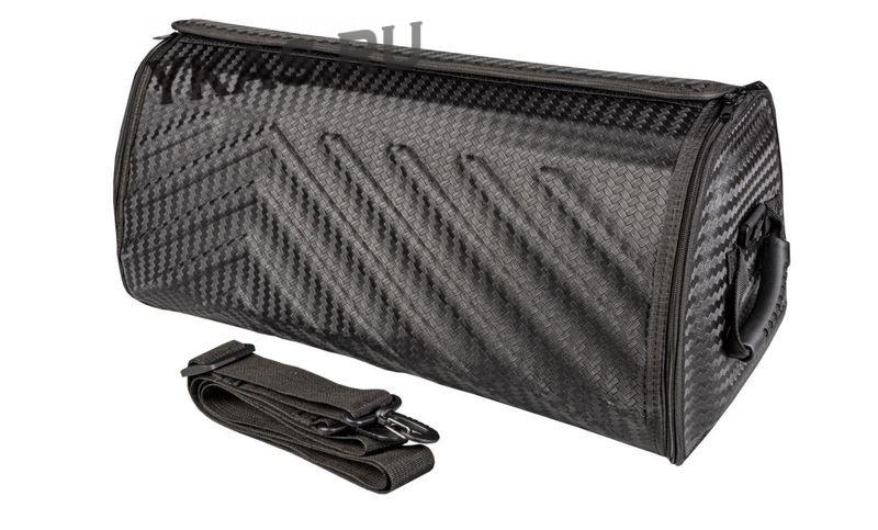 Сумка органайзер в багажник «L» 70/30/30 черный карбон