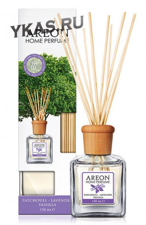 """Осв.возд. Areon HOME PERFUME """"Patchouli-Lavender-Vanilla""""  150мл."""