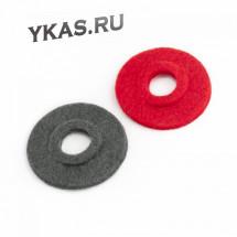 Прокладка клемм АКБ противоокислительная  Аutoprofi  (красная/черная) войлок