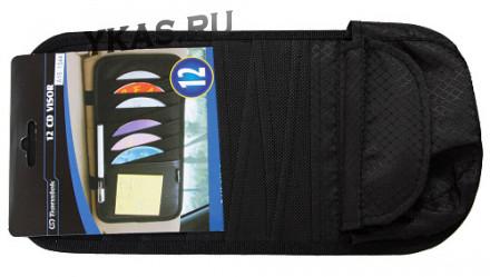 Органайзер для CD-дисков/12шт. А15-0031 black